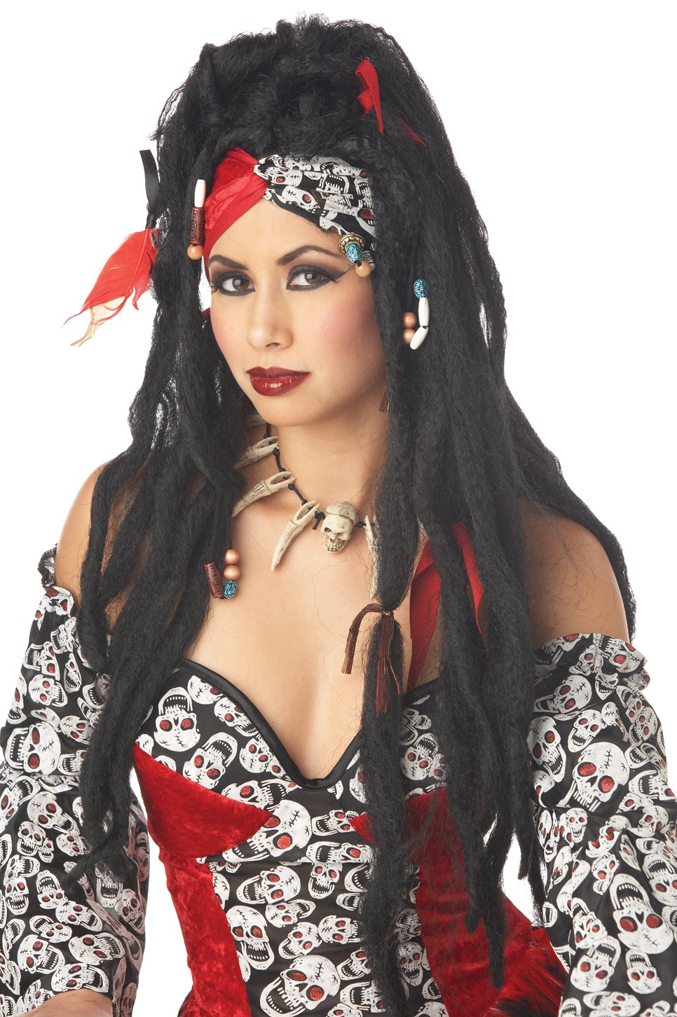 Voodoo Dreads Adult Costume Wig #70502