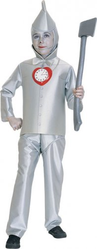Tin Man Wizard of Oz Child Costume Size: Large #882504