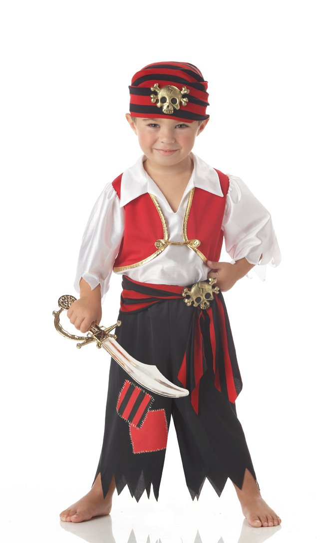 Ahoy Matey Pirate  Toddler Costume Size: Large #00051