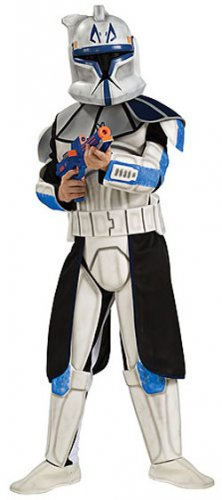 Clone Wars Captain Rex Deluxe Child Costume Size Large