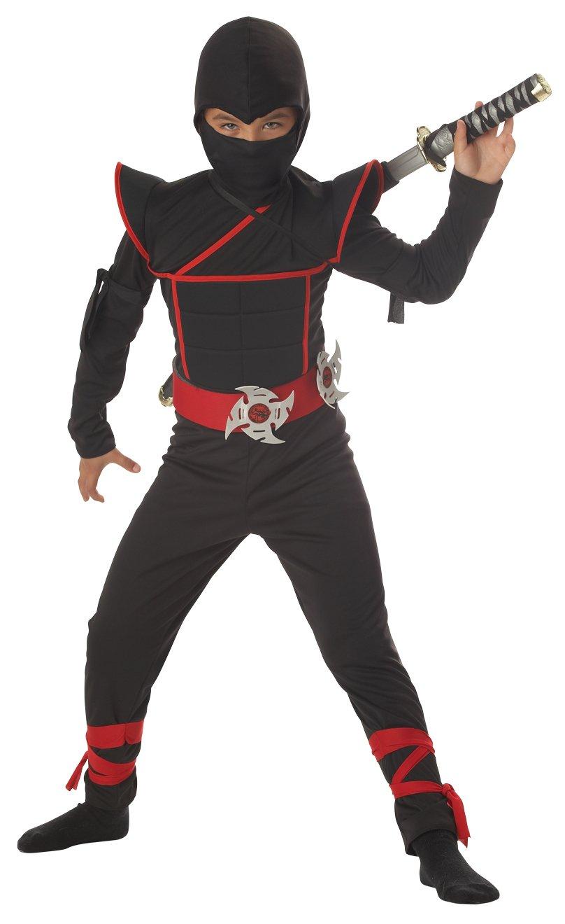 Size: Large #00228 Japanese Stealth Ninja Samurai Warrior Child  Costume
