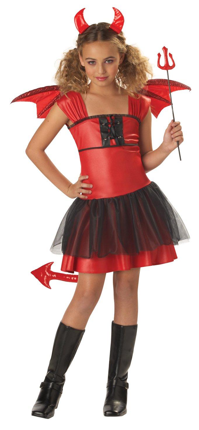Devil Darling Child Costume Size:  Medium Plus #00235