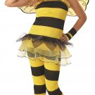 Hornet Bumble Bee Little Honey Child Costume Size:  Large Plus #00257