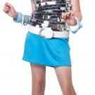 Disco Go Go Girl Rock Star Child Costume Size: Medium Plus #00331