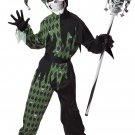 Evil Jester Renaissance Jokes on You Child Costume Size: Medium #00338