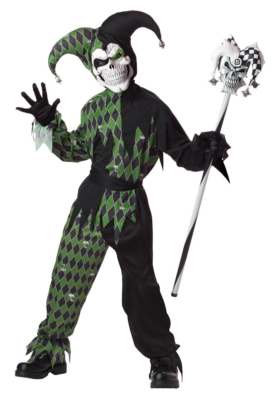 IT Renaissance Jokes on You Evil Jester Child Costume Size: Large #00338