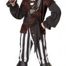Size: Large #00339 Pirate Swashbuckler Jack Sparrow Child Costume