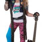 80's Glam Rocker Punk Child Costume Size: Large #00348
