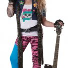 80's Rock Star Glam Rocker Child Costume Size: Large Plus #00348
