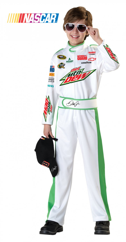 Dale Earnhardt Jr NASCAR Child Costume Size: Medium Plus  #00363