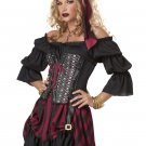 Renaissance Pirate Wench Adult Costume Size: Small #01187