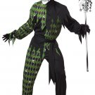 Renaissance Joker Clown Jokes On You Jester Adult Costume Size: Large #01190