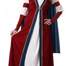 Renaissance Queen Medieval Time Adult Costume Size: Large 01202