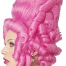 #70234 Victorian Marie Antoinette Hot Pink French Adult Costume Wig