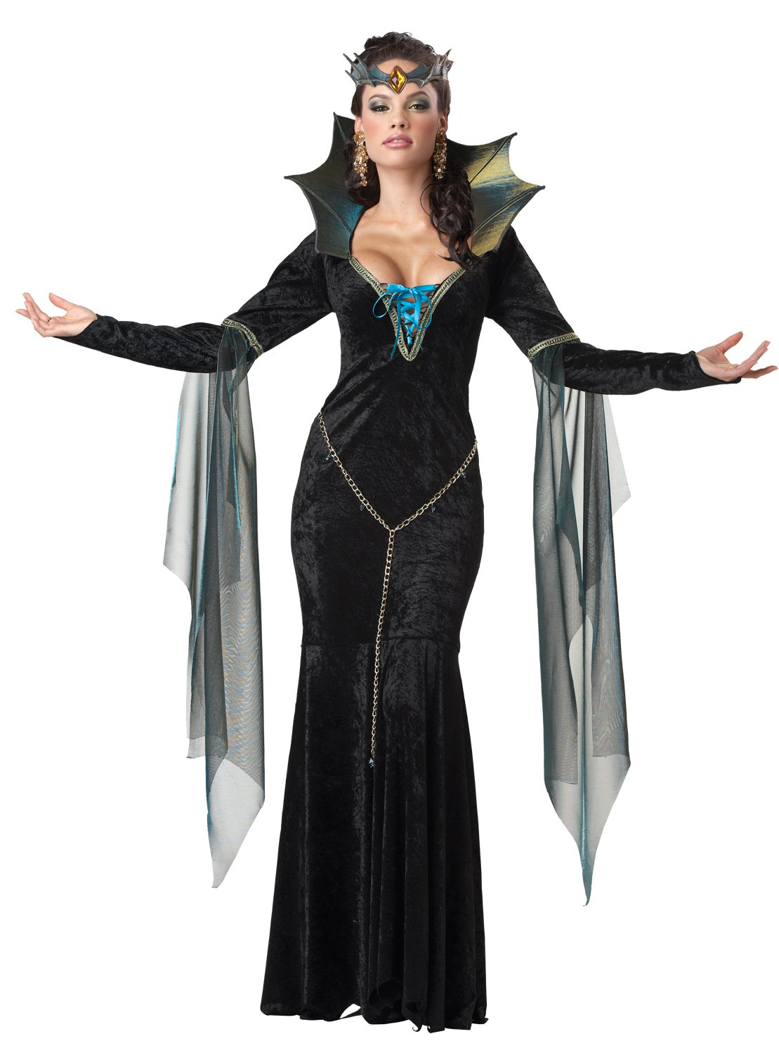 Size: X-Large #01231   Disney Evil Sorceress Witch  Adult Costume