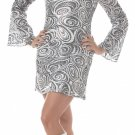 70's Disco Diva Adult Plus Size Costume: 3X-Large #01660