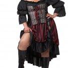 Medieval Renaissance Pirate Wench Adult Plus Size Costume : 2X-Large #01715