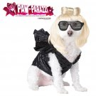 Pop Sensation Gaga Dog Costume Size: Large #20111