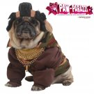 Pity The Fool Mr. T Dog Costume Size: Large #20118