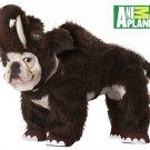 Dinosaur Wooly Mammoth Dog Costume Size: Small #20115