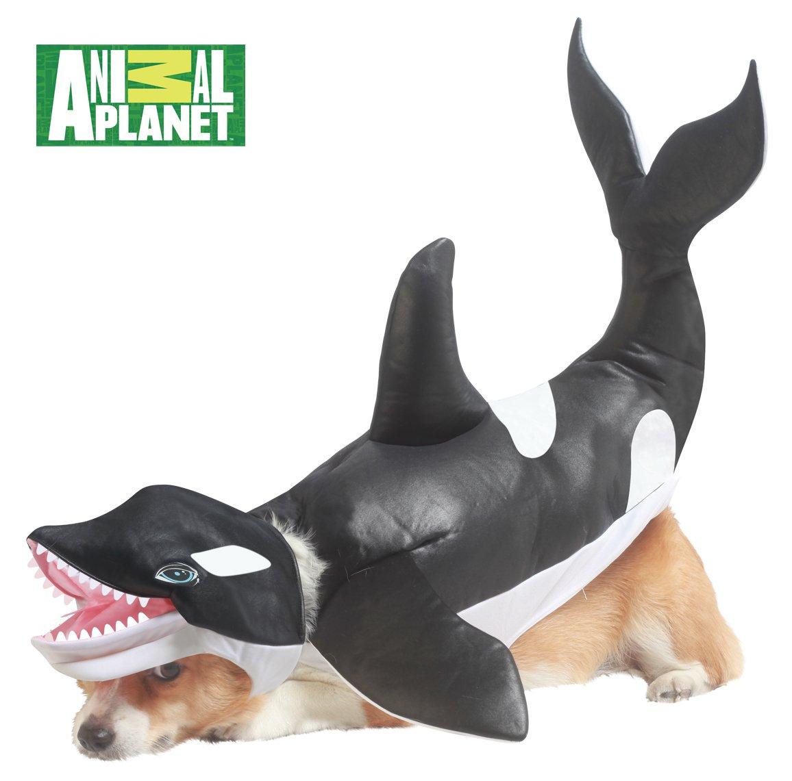 Orca Shamu Killer Whale Dog Costume Size: Medium #20116