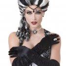 Victorian Renaissance Gothi Vampire Adult Costume Wig #70678