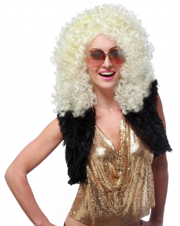 Disco Diva Dancing Queen 70's  Adult Costume Wig #70662