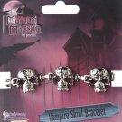 Vampire Skull Bracelet  Costume Accessory