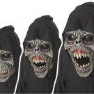 Standard Size: #60301 Zombie Night Fiend Ani-Motion Adult Costume Mask
