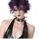 Glitter Punk Rock Star Adult Costume Wig #70436