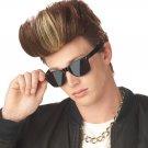 MC Poser Vanilla Ice Hi Top Fade Adult Costume Wig  #70600