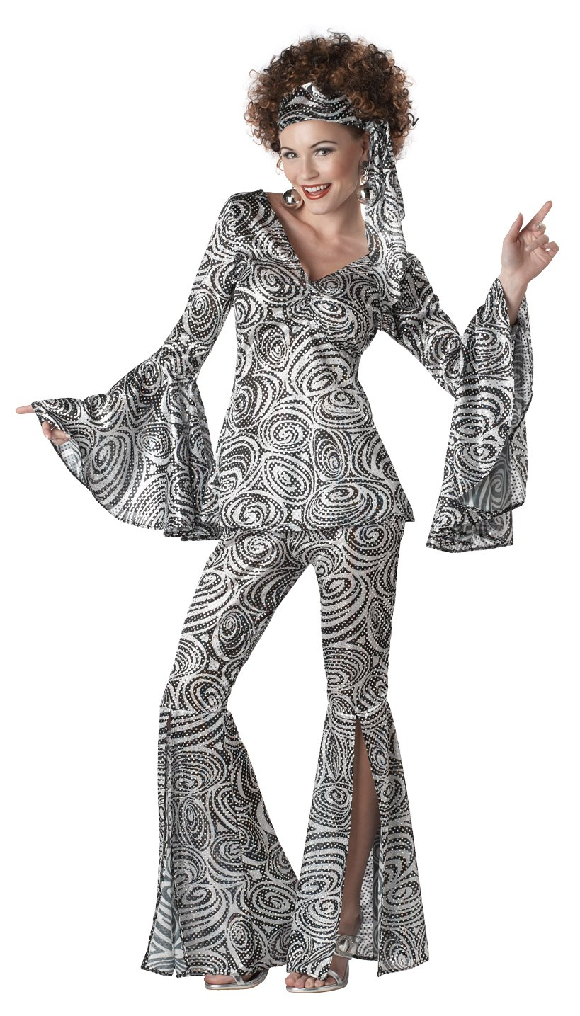 Size: Large #01113 Foxy Lady Disco 1970's Adult Costume
