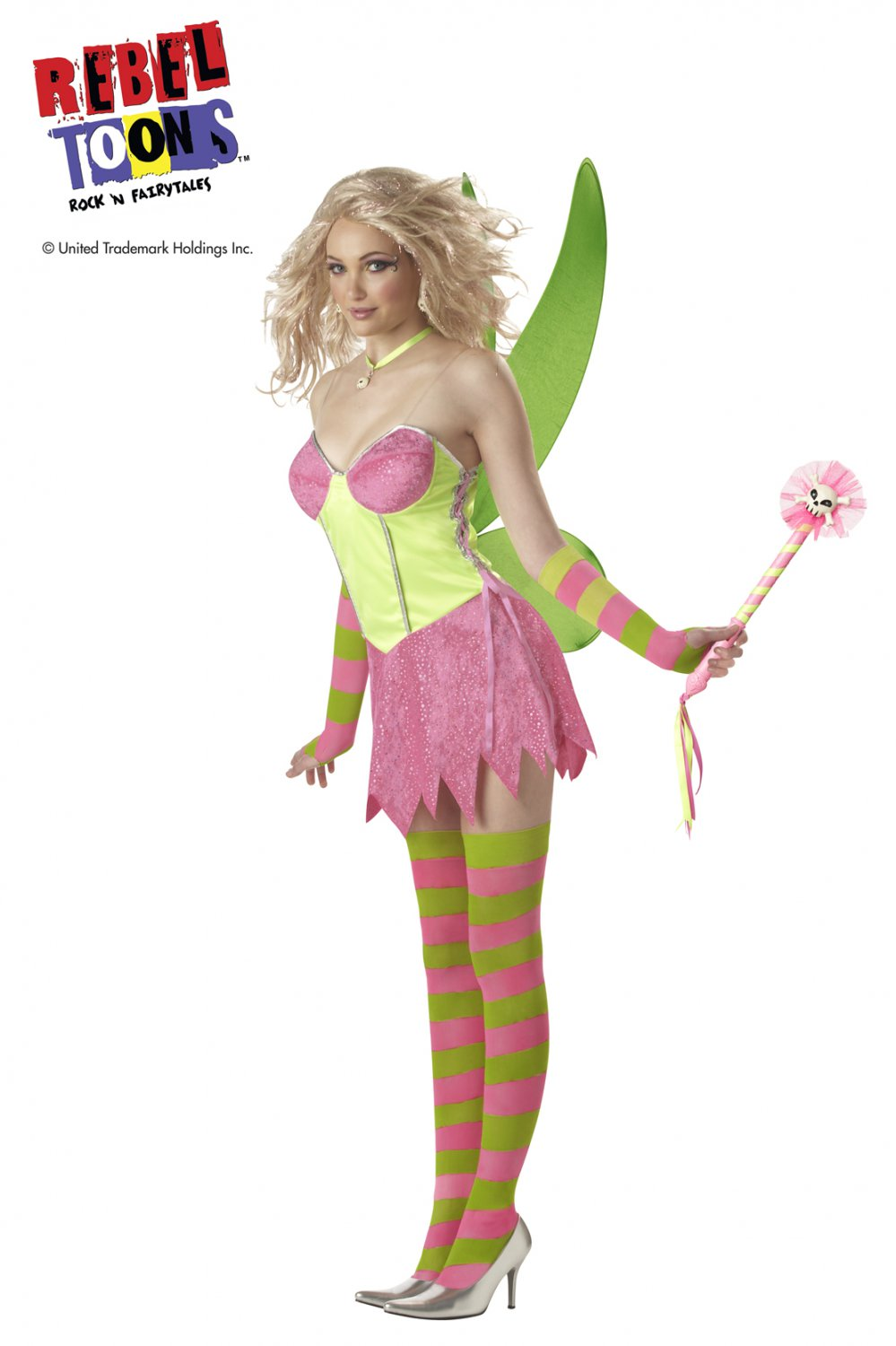Tinkerbell  Adult Costume Size: Small