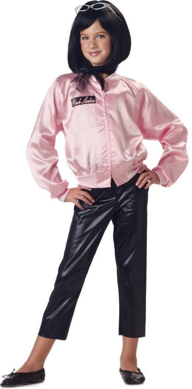 Grease Pink Ladies Jacket With Pants Child Costume Size:  X-Small #00265