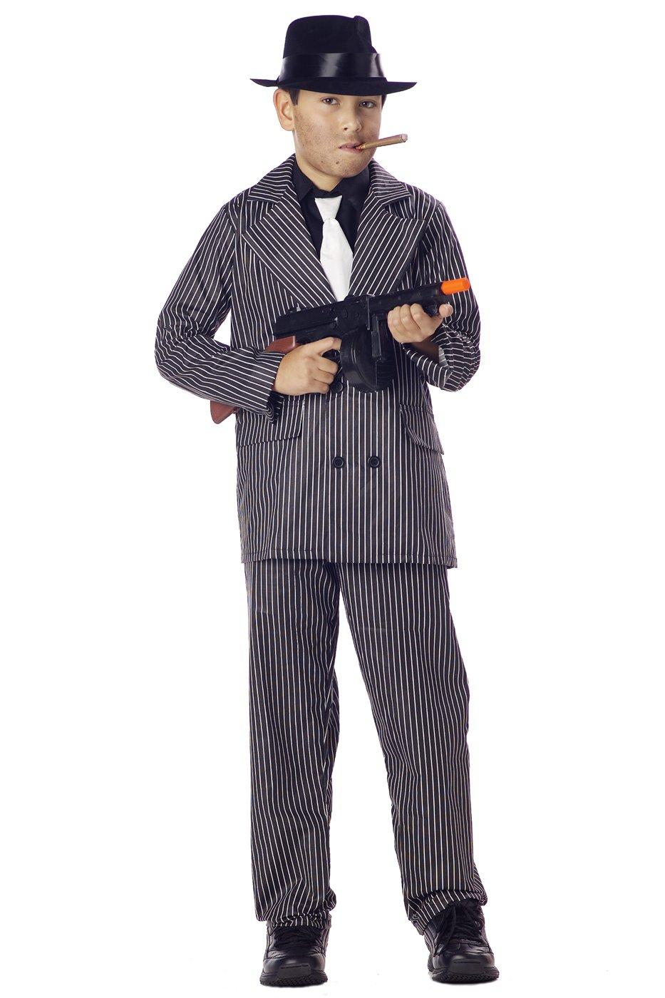 Mafia Gangster Child Costume Size: X-Small #00490