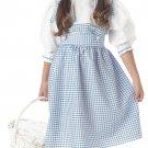 Dorothy Wizard of Oz Child Costume Size: Medium #00560