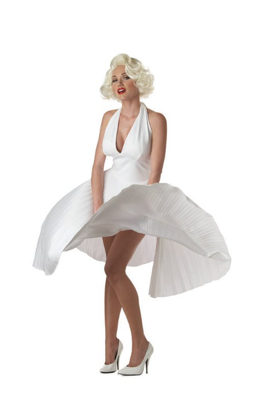 Deluxe Marilyn  Monroe Adult Costume Size: Large #00748