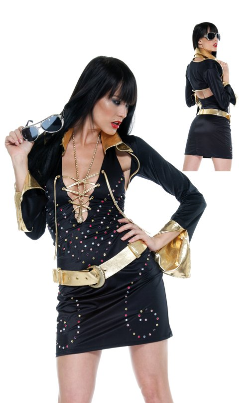 Elvis Superstar  Adult Costume Size: Medium/Large #559211