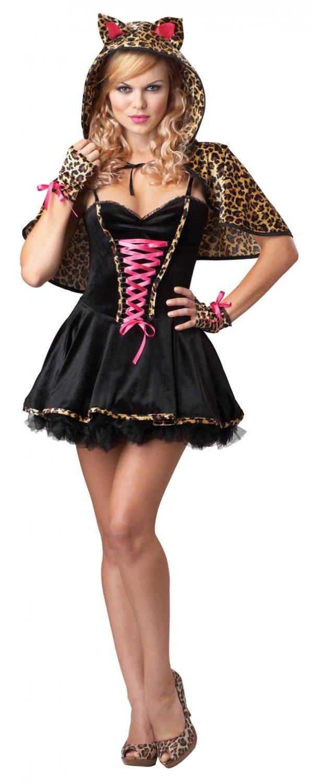 Leopard Frisky Kitty Cat Adult Costume Size: X-Large #01195