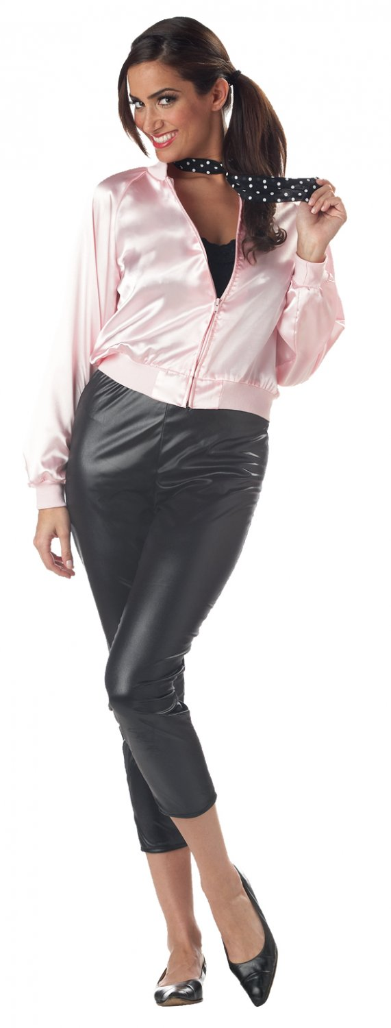 Grease Pink Ladies Jacket (Only) Adult Costume Size: X-Large #01320