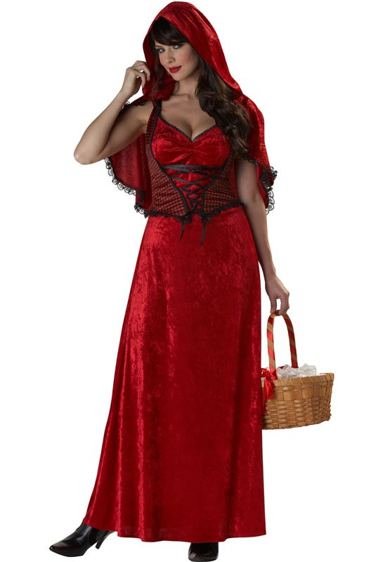Miss Red Riding Hood Adult Costume Size: Large #01279