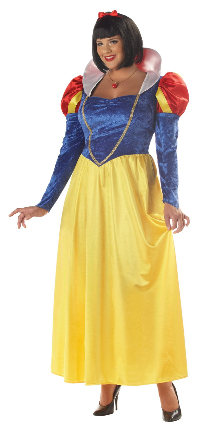 Classic Disney Snow White Adult Plus Size Costume: 1X-Large #01689