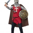 Skull Knight Medieval Warrior Adult Costume Size: Large #01267
