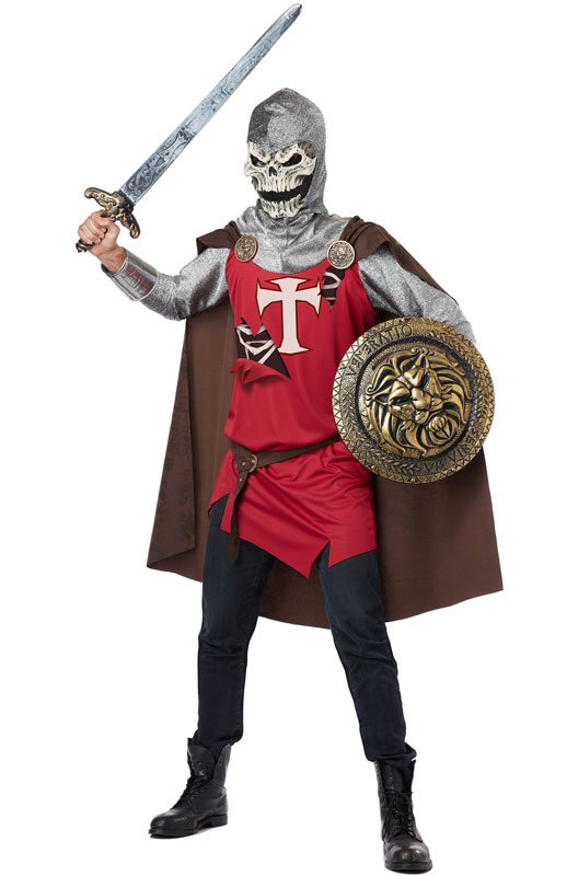 Skull Knight Renaissance Adult Costume Size: Small #01267