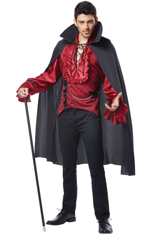 Dashing Vampire Victorian Dracula Adult Costume Size: Large #01277