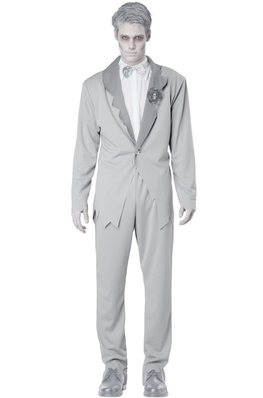Ghostly Groom Adult Costume Size: Medium #01288