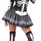 Skeleton Masquerade Adult Costume Size: Medium #01128