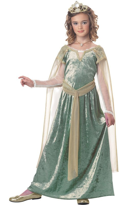 Renaissance Queen Guinevere Child Costume Size: X-Large #00381