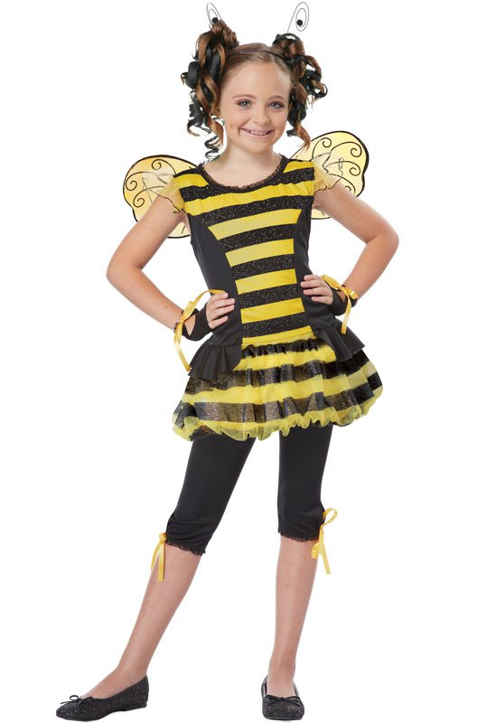 Bumble Bee Buzzin Around Child Costume Size: Medium #00409