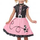 Grease 50's Poodle Cutie Toddler Costume Size: Medium #00134